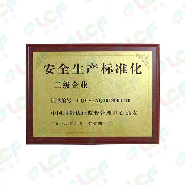安全生产标准化企业