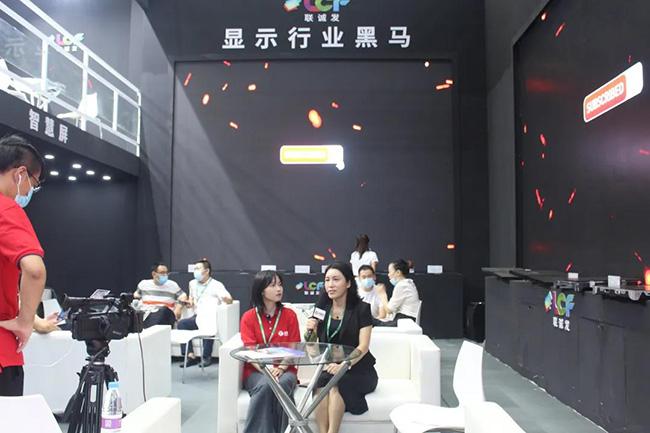 展会采访丨无极3:跟紧行业发展潮流,致力于成为LED显示屏行业的黑马